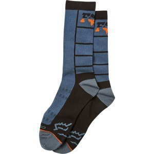 Носки велосипедные FOX Lane Splitter Crew Sock, Blue Steel